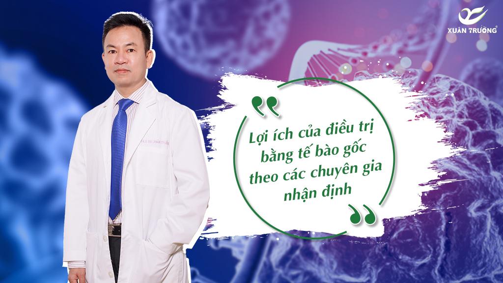 Chấn thương cột sống – Lợi ích điều trị bằng tế bào gốc theo chuyên gia